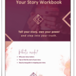 your story workbook with Lisa Kniebe
